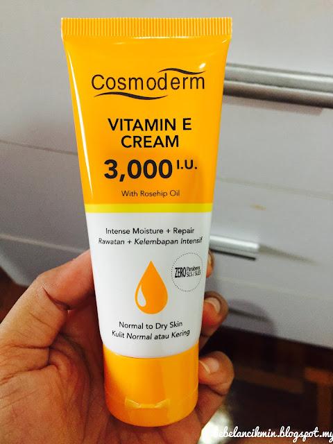 Jatuh cinta dengan Vit E Cream Cosmoderm