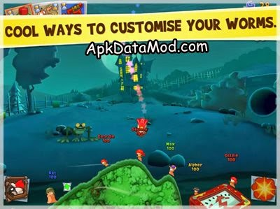 Worms 3 Apk custom character