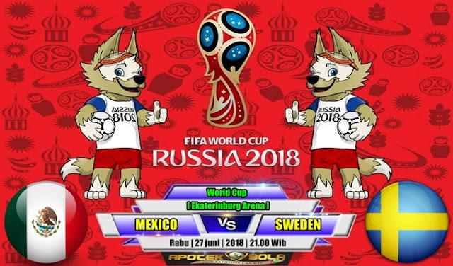 Prediksi Mexico vs Sweden 27 Juni 2018
