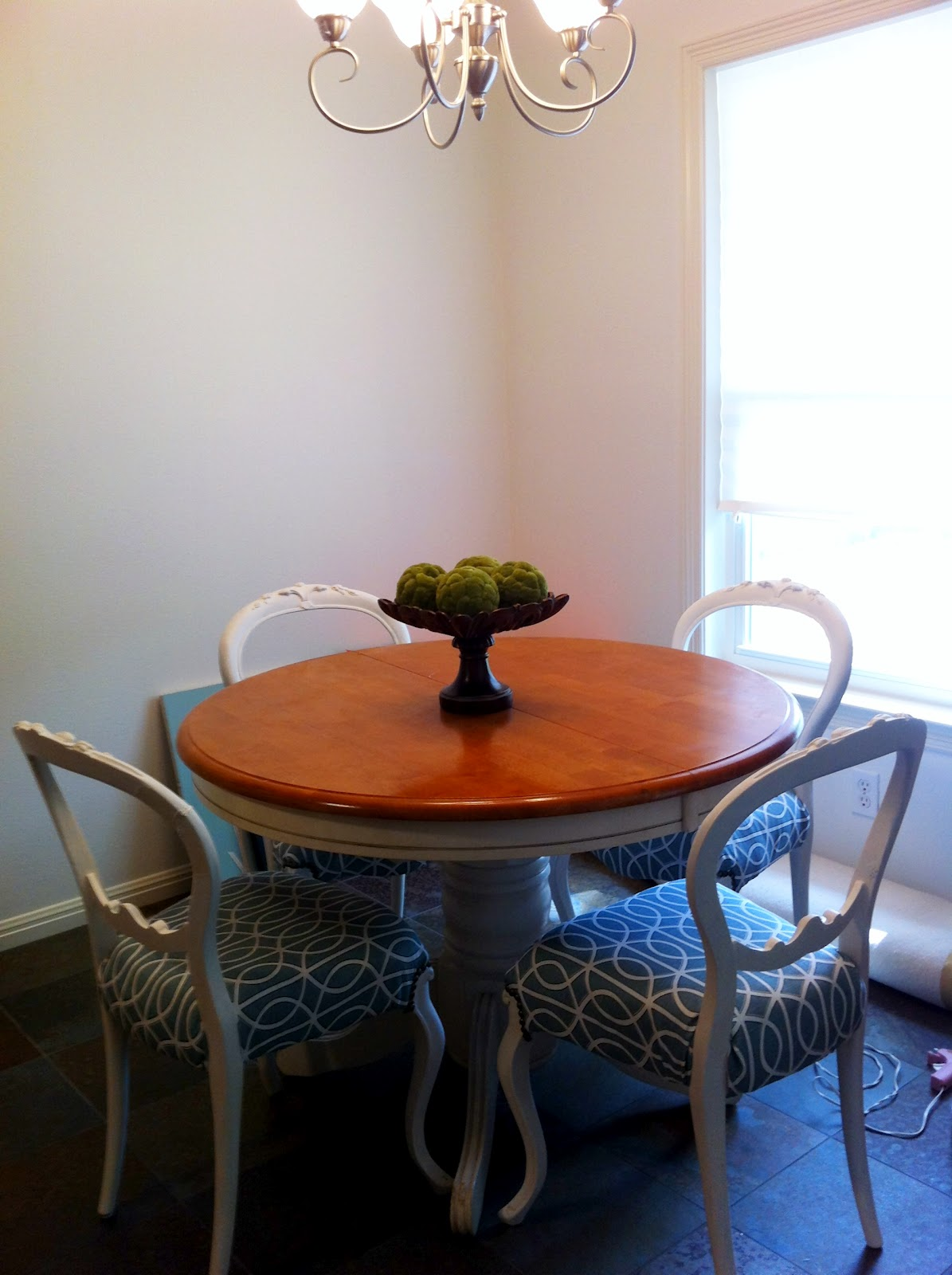 The Bird With The French Fry: Reupholsterd Chairs