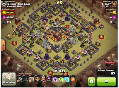 Clan War Matchmaking Less Mismatches