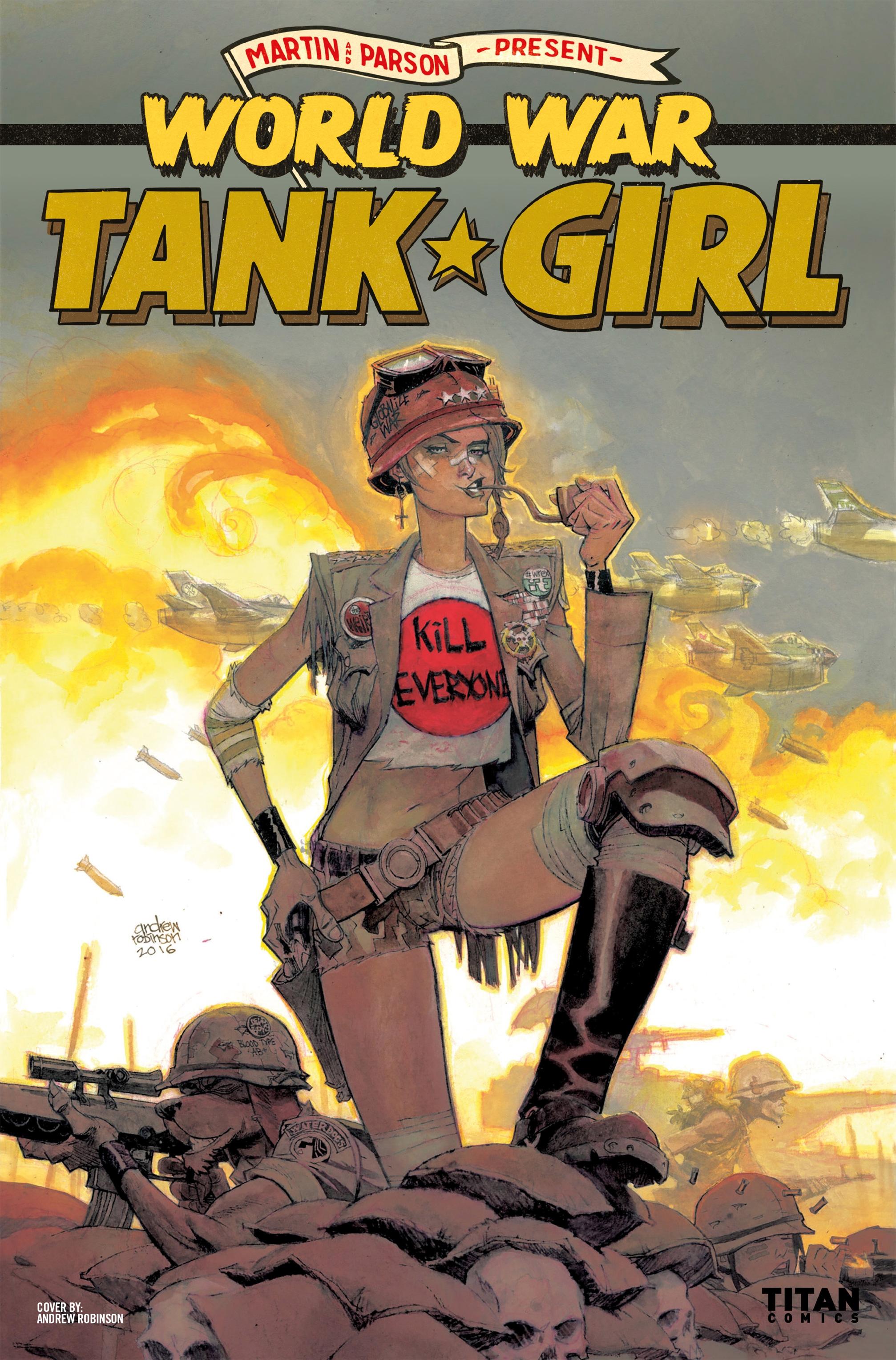 Read online Tank Girl: World War Tank Girl comic -  Issue #3 - 28