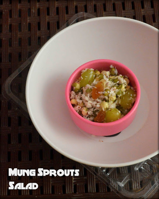 mung sprouts salad