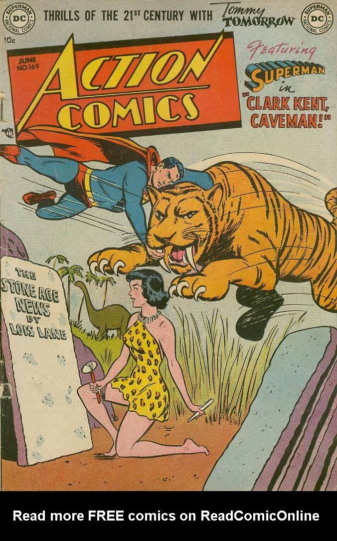 Read online Action Comics (1938) comic -  Issue #169 - 1