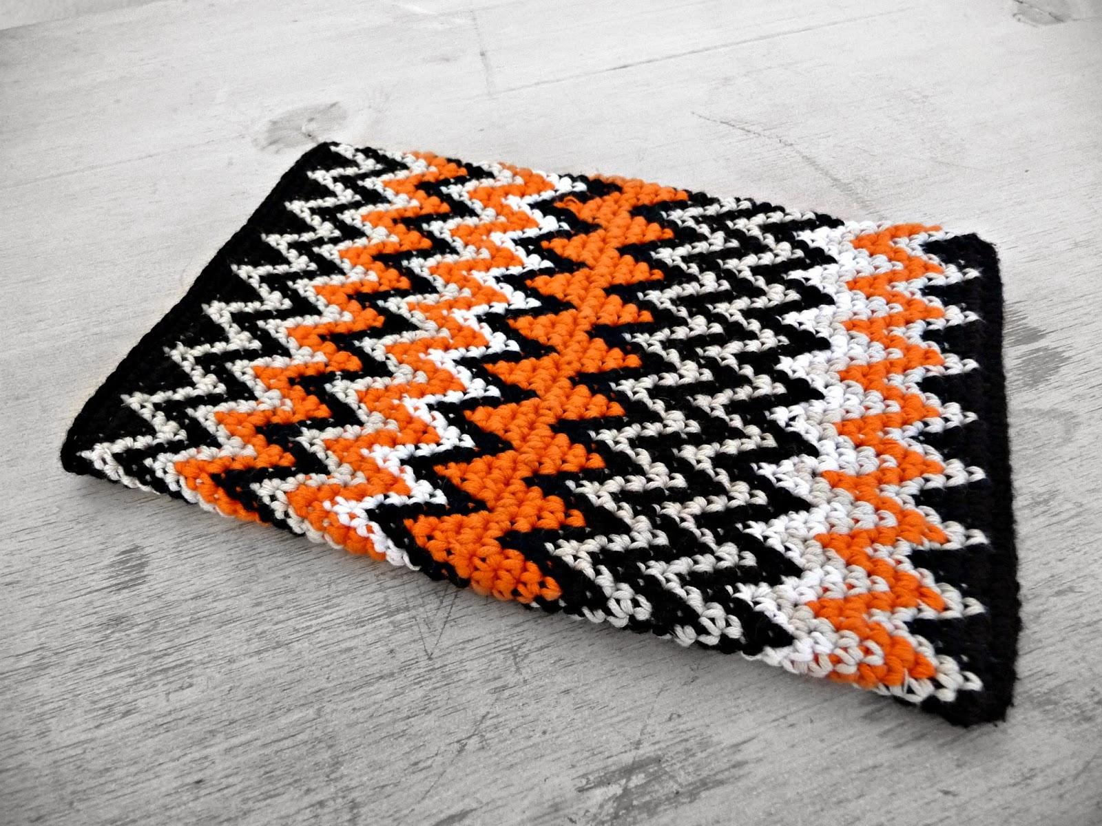 M&M a crochet : Tapestry crochet