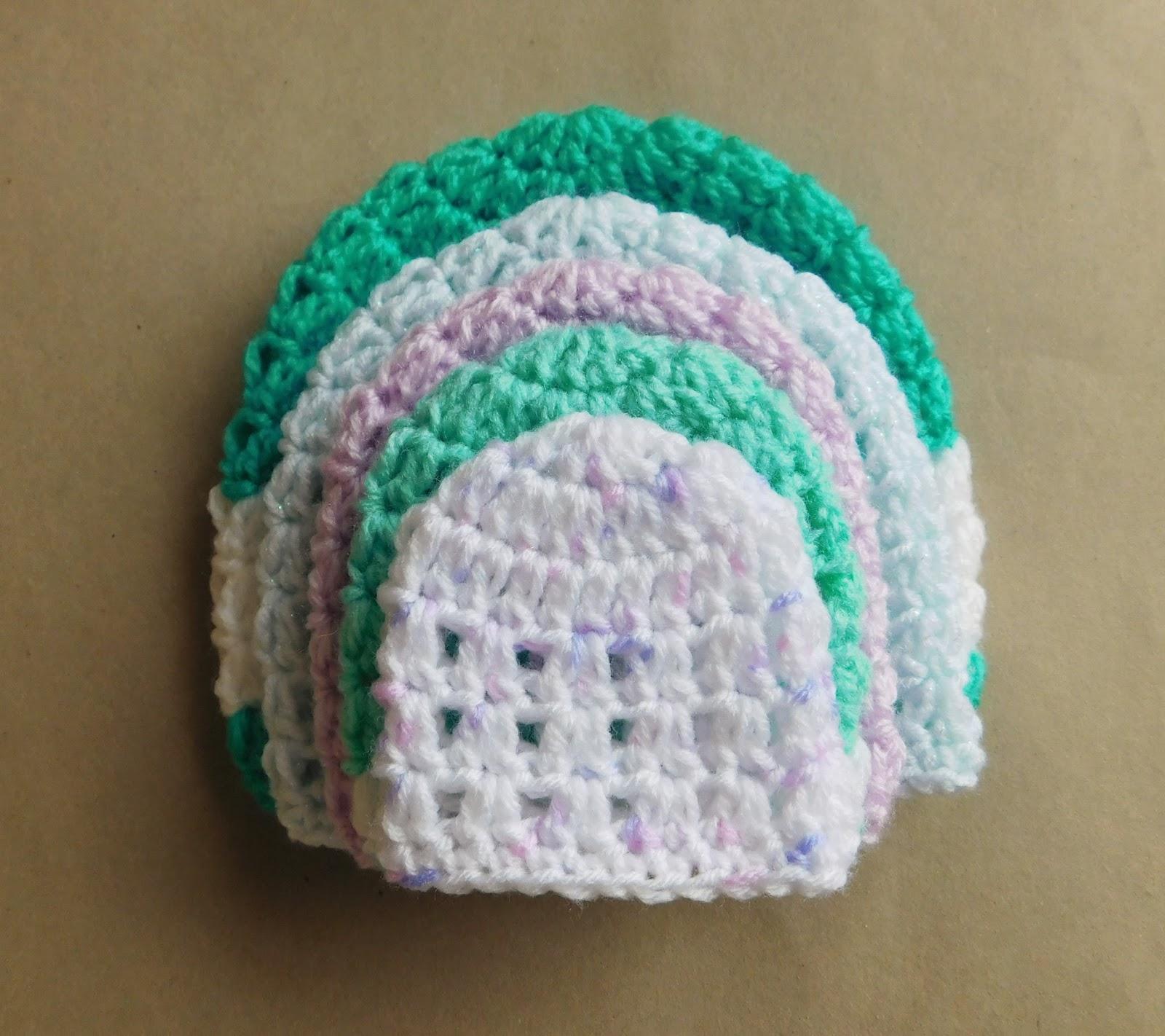 Marianna s Lazy Daisy Days  Valerie - Crochet Baby Hat bda2b720315