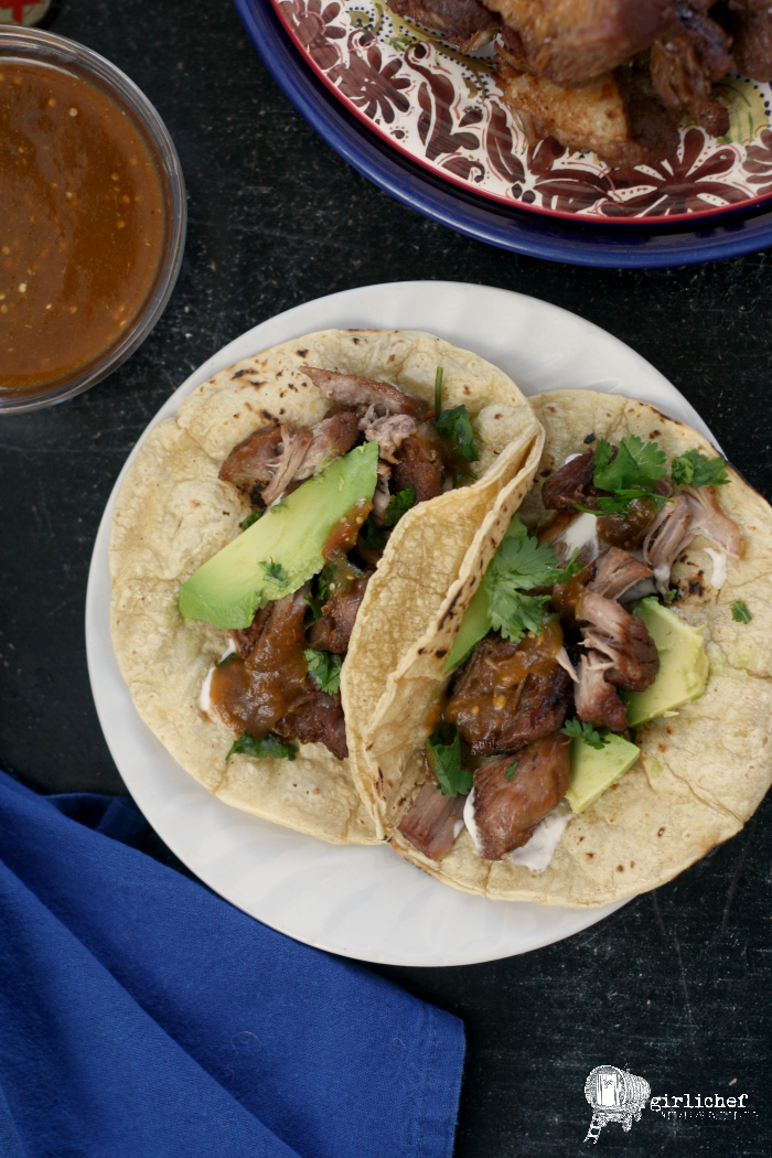 Beer Braised Pork Carnitas