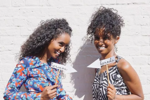 deaf twins, hermon and heroda berhane,fashion bloggers at being her