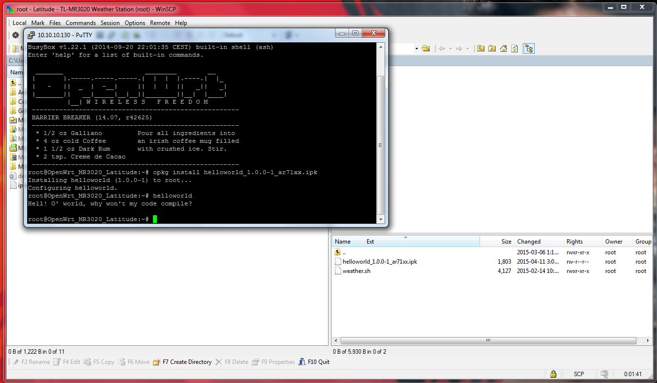 Electronics FAQ: Installing and using OpenWRT SDK on Ubuntu 64bit VM