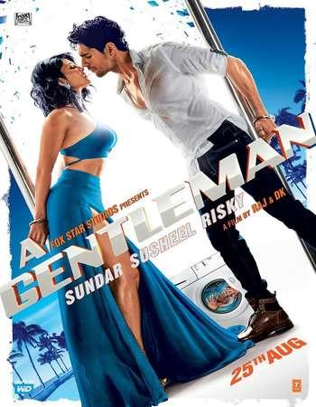 A Gentleman 2017 Hindi 720p BluRay ESubs