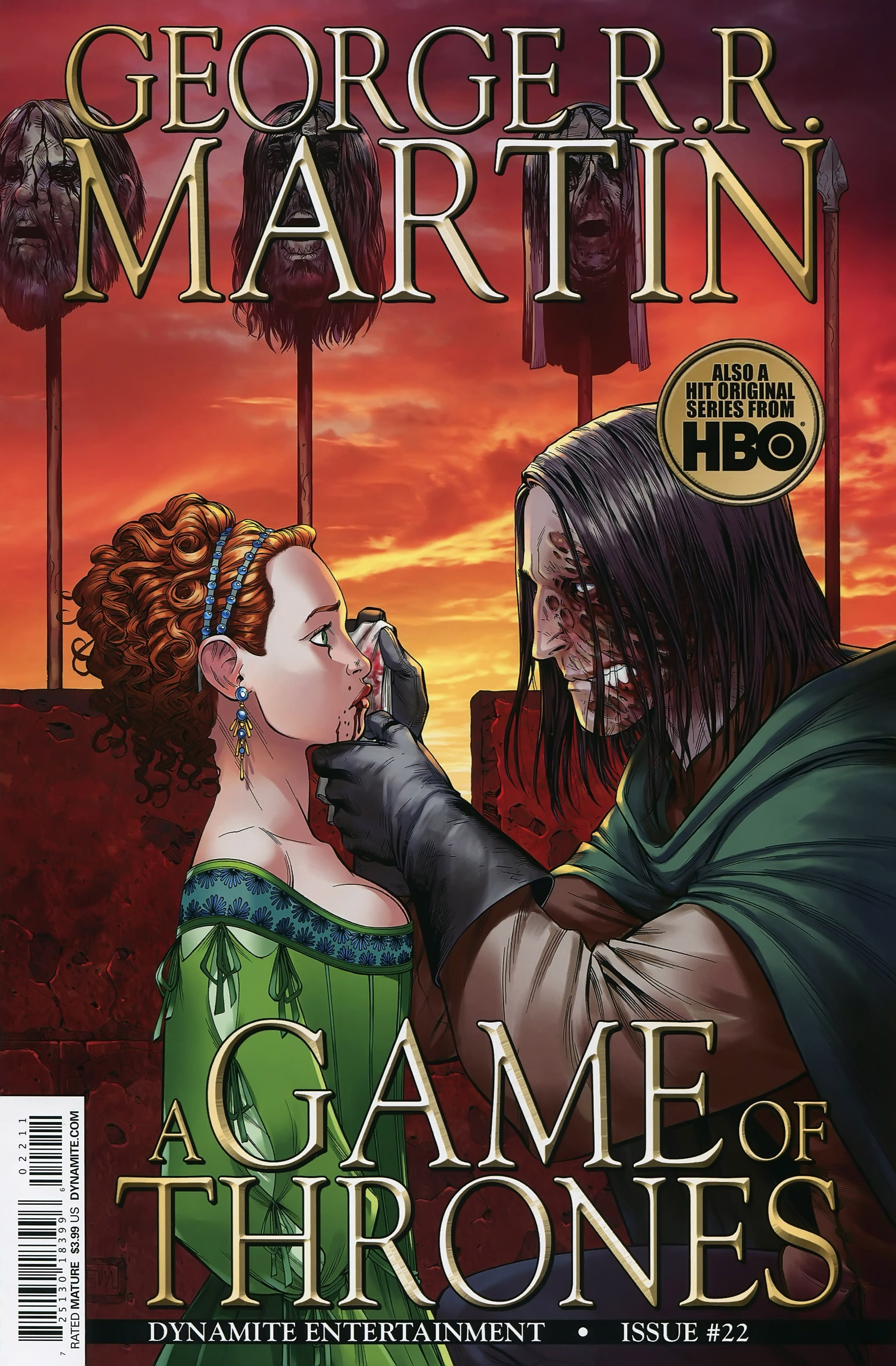 Read online A Game Of Thrones comic -  Issue #22 - 1