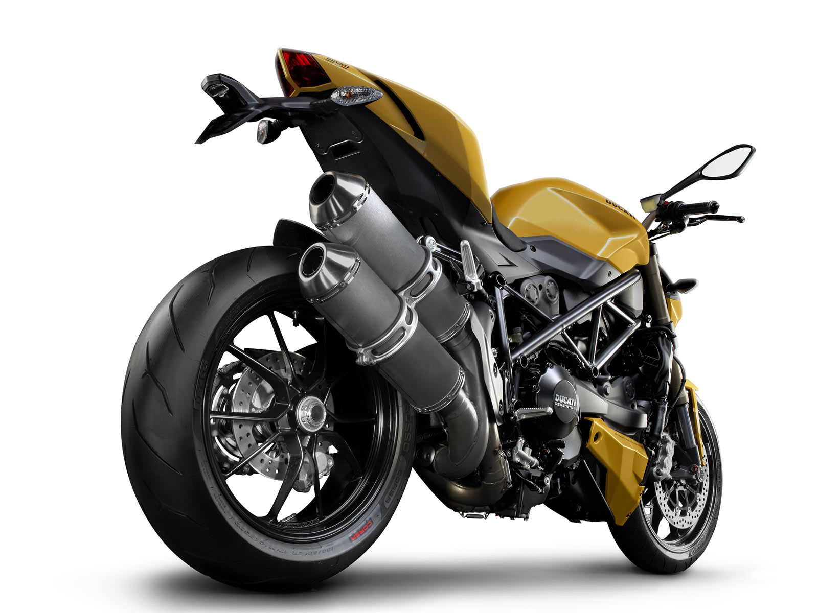 2012 ducati streetfighter 848 motorcycle wallpaper