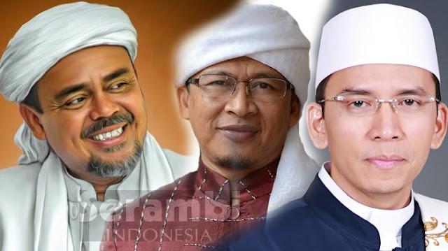 Gubernur NTB TGB Zainul Majdi Dukung Jokowi 2 Periode, Begini Reaksi Berang PKS, PAN, PBB dan Bahkan PA 212 Ikut Murka