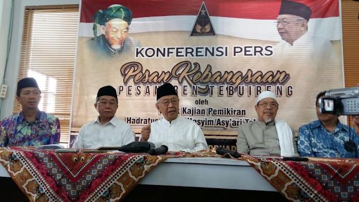 Pesan Kebangsaan Tebuireng: Jangan Pertentangkan Islam dengan Keindonesiaan