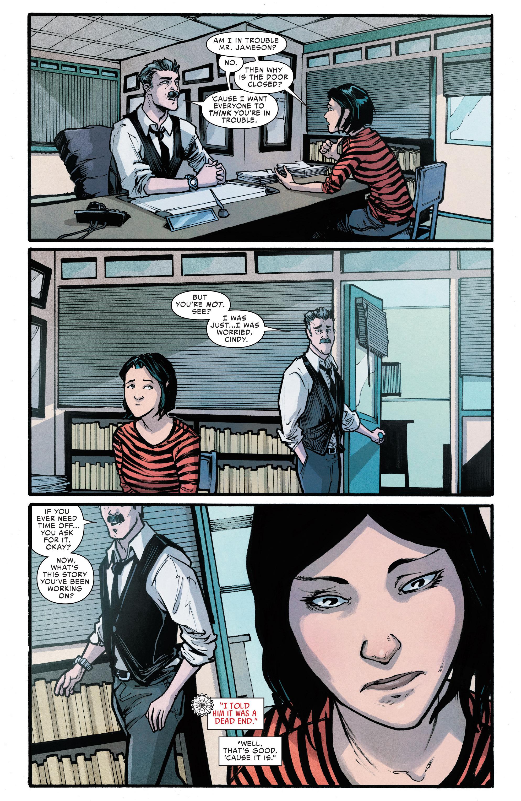 Read online Silk (2016) comic -  Issue #6 - 5