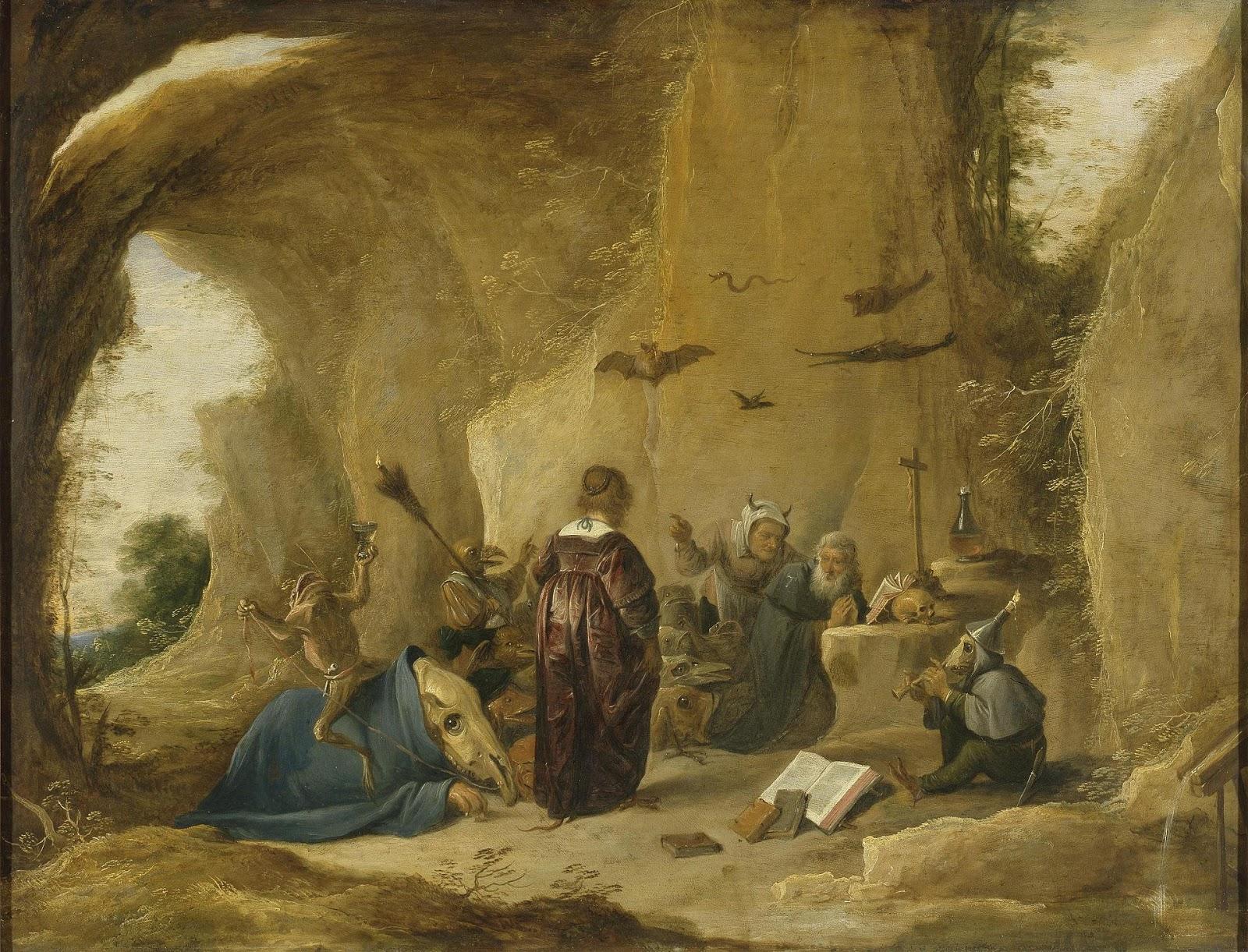 Картинки по запросу temptation of st anthony david teniers the younger