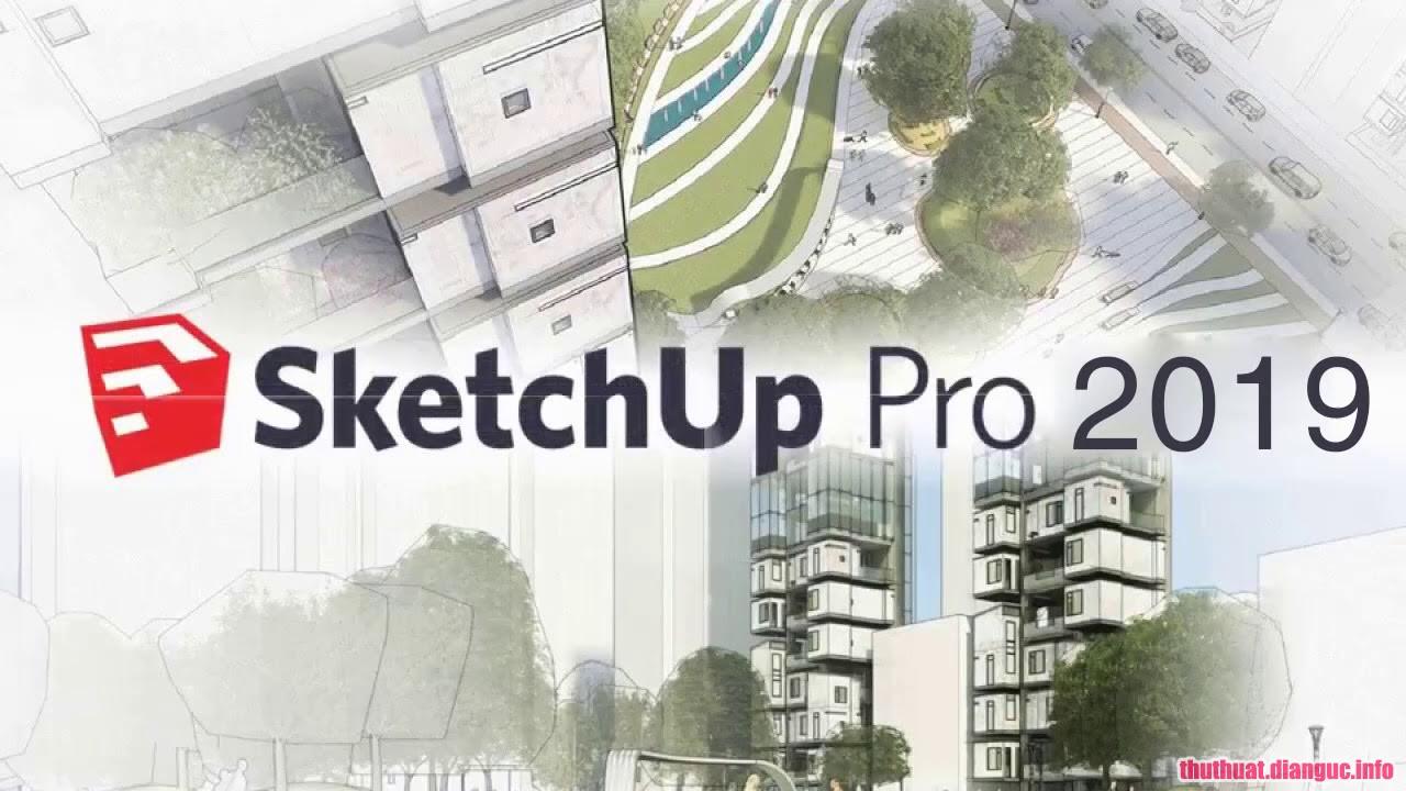 Download SketchUp Pro 2019 V19.1 Full Cr@ck