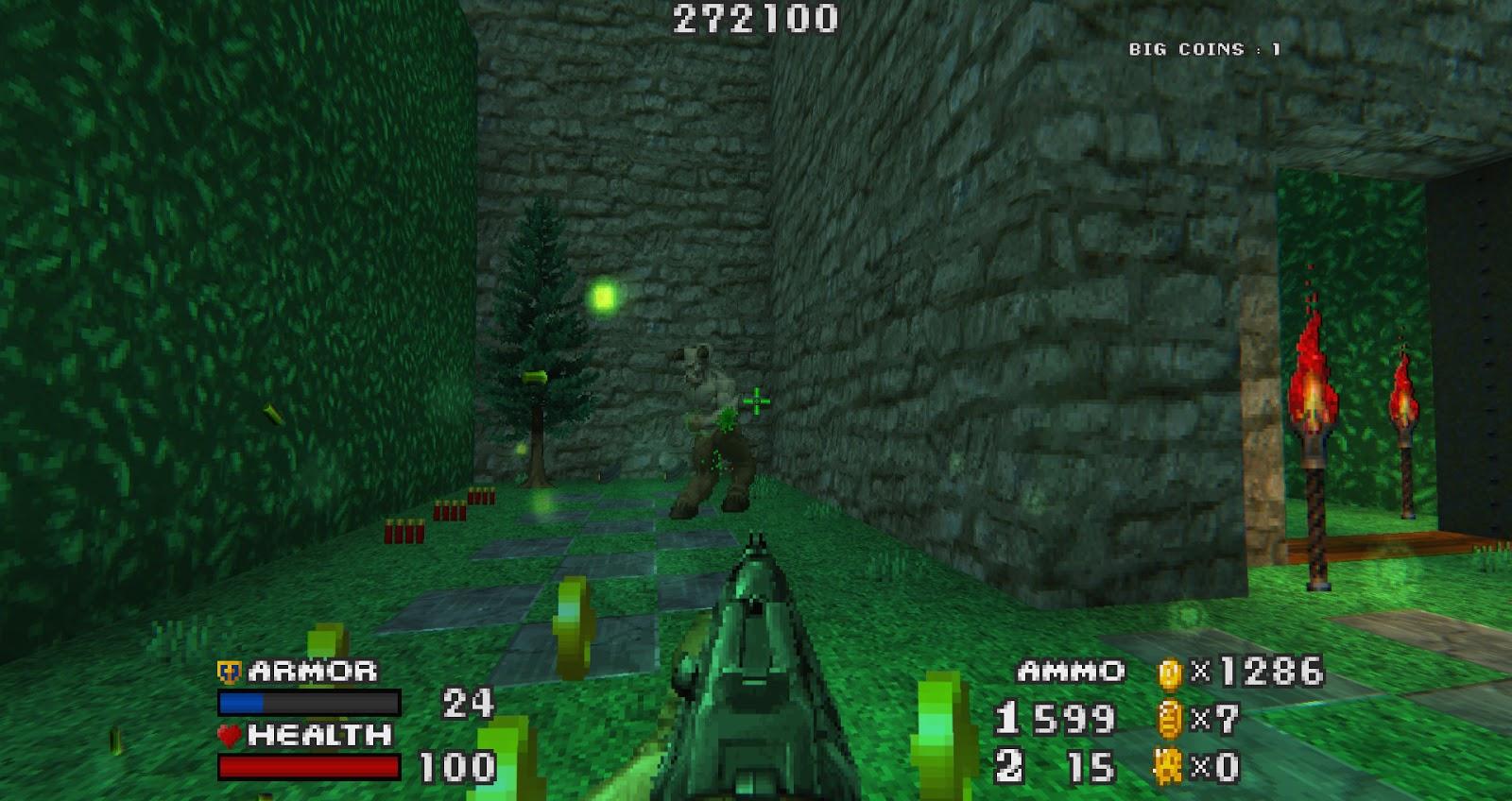 Review - DOOM - THE GOLDEN SOULS 2 - The toughest FPS-platformer mod