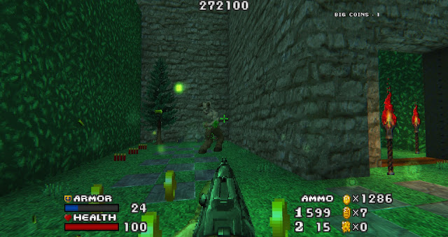 Doom - The Golden Souls 2 - The mod features lots of maze-like maps