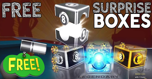 rare box 8 ball pool links