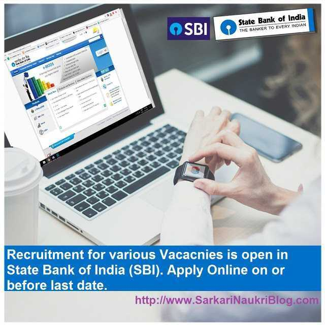 SBI Vacancies