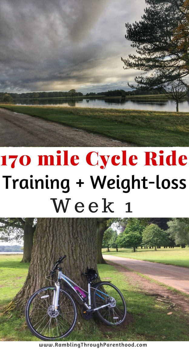 Soldiering through plantar arch pain and sugar cravings! Here is how I did in week 1 of my training programme for the Way of the Roses cycle ride.