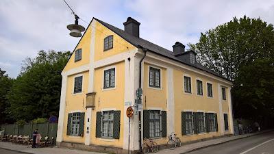 Linnaeus Museum House in Uppsala.
