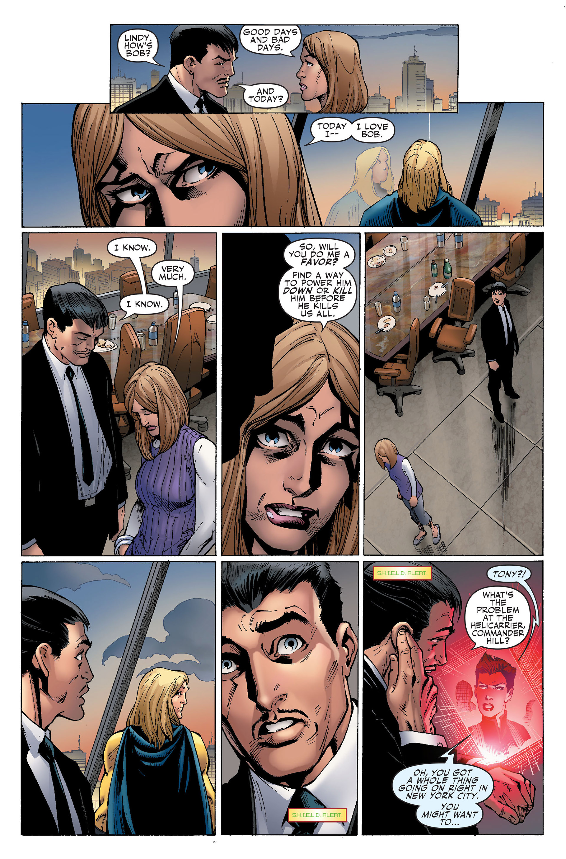 Read online Secret Invasion: The Infiltration comic -  Issue #1 - 22