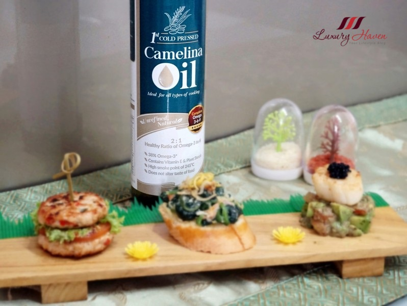 singapore food blogger reviews lifestream labo camelina oil