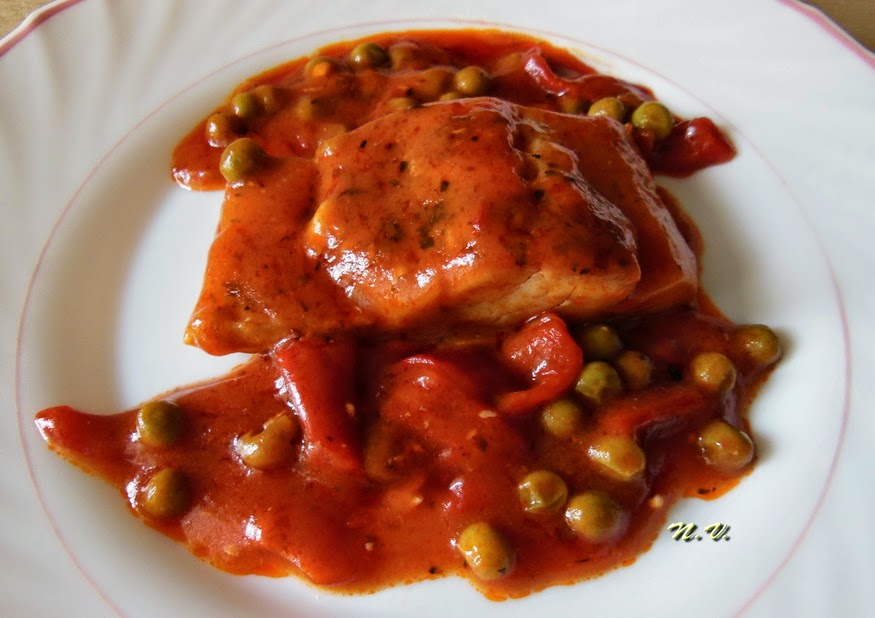 BACALAO CON TOMATE 5