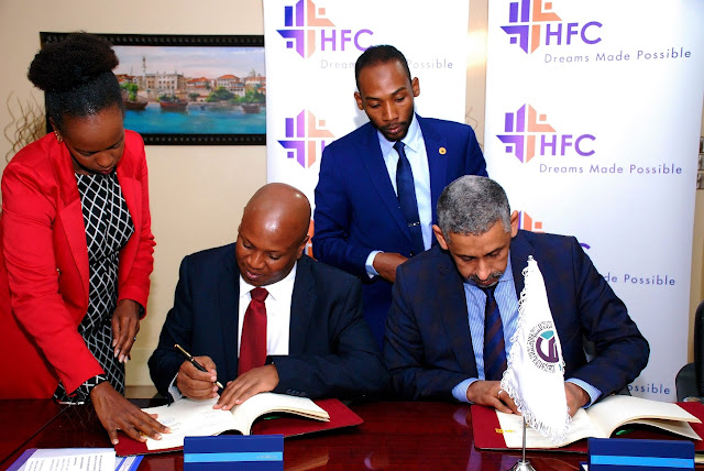 Nairobi Kenya,HF, BADEA signs credit facility agreements