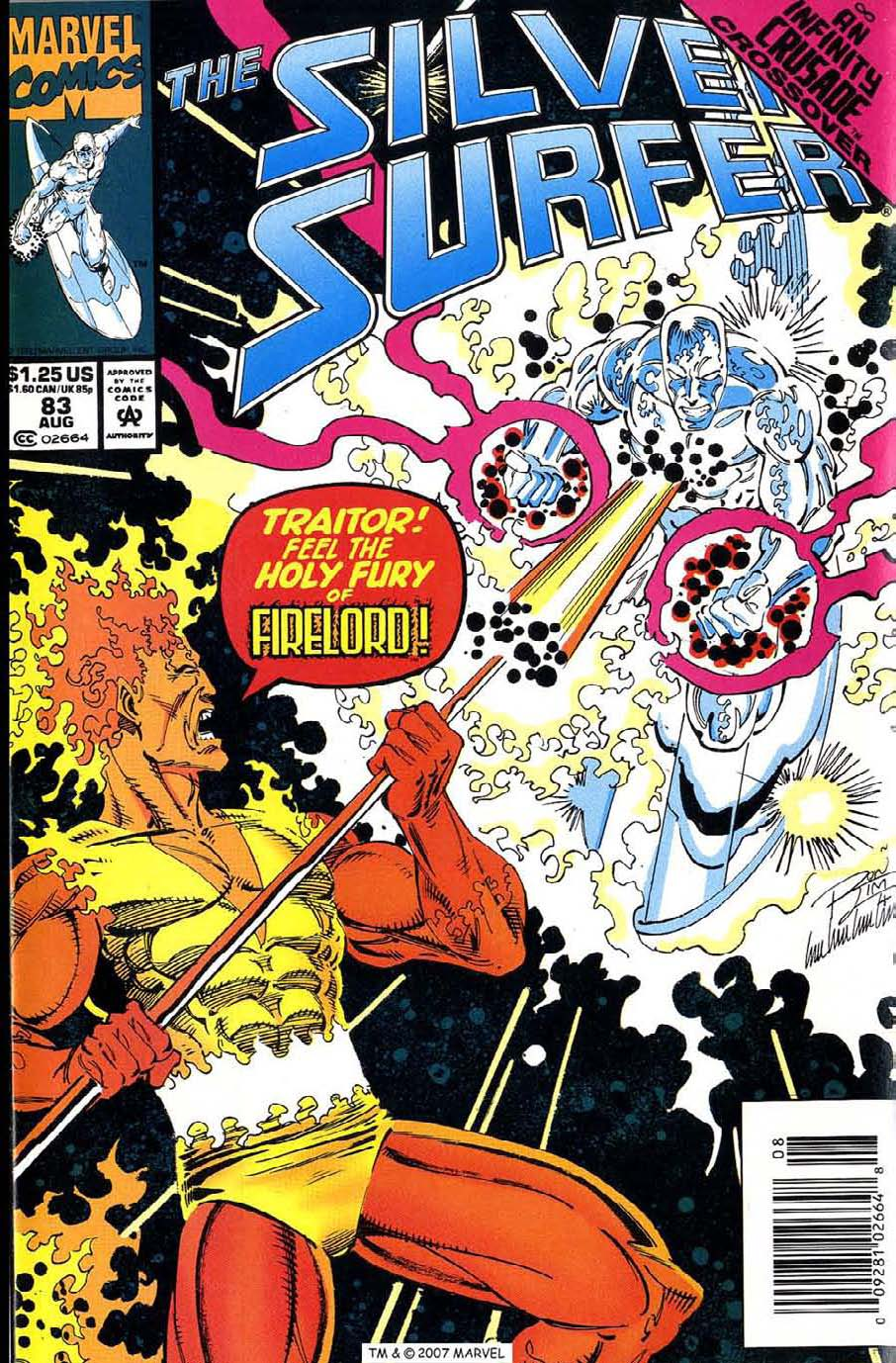 Read online Silver Surfer (1987) comic -  Issue #83 - 1