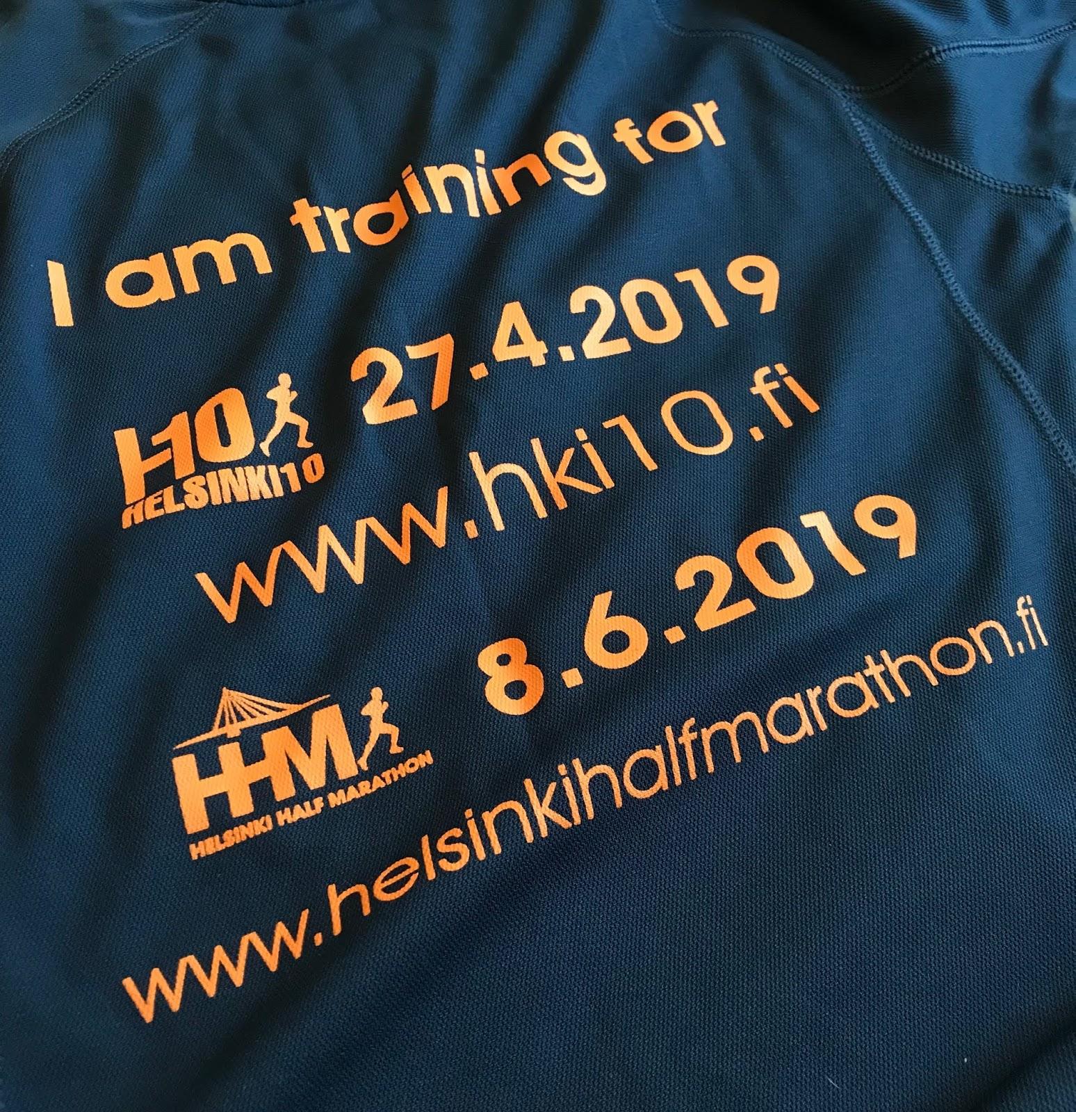 Helsinki Half Marathon Helsinki10 juoksupaita