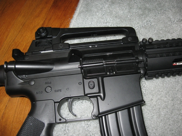 Airsoft and Tech Blog: ICS M4A1 R A S  Review
