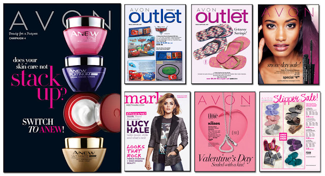 Avon Campaign 4, Avon Outlets, Avon mark magalog, The Online date on this Avon Catalogs 1/23/2016 - 02/05/2016'