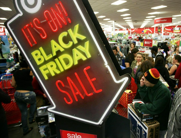 Black Friday em Nova York