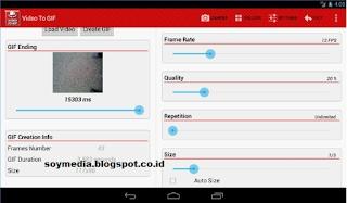 merubah file video ke gif