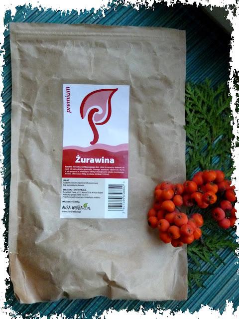 Ulubione zdrowe przekąski: Żurawina Premium Aura Herbals