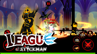 Download League of Stickman:Reaper v2.5.0 Apk Mod Unlimited Money 2016