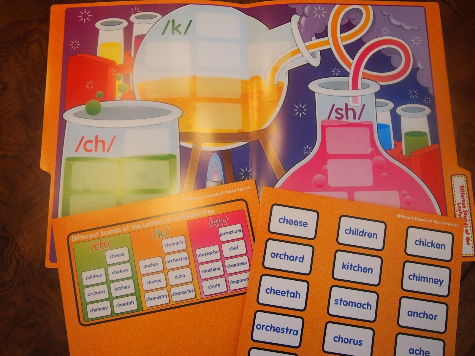 Give Away Language Arts File Folder Games Kleinspiration