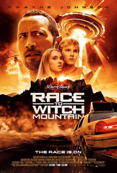 Poster Of Race To Witch Mountain 2005 720p Hindi BRRip Dual Audio Full Movie