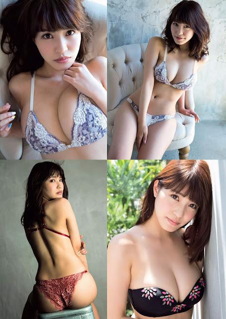 Asuka Kishi 岸明日香 Weekly Playboy 週刊プレイボーイ No 33 2015 Pictures 2