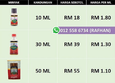 minyak asmak murah