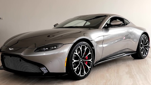 First Look At The 2019 Aston Martin Vantage