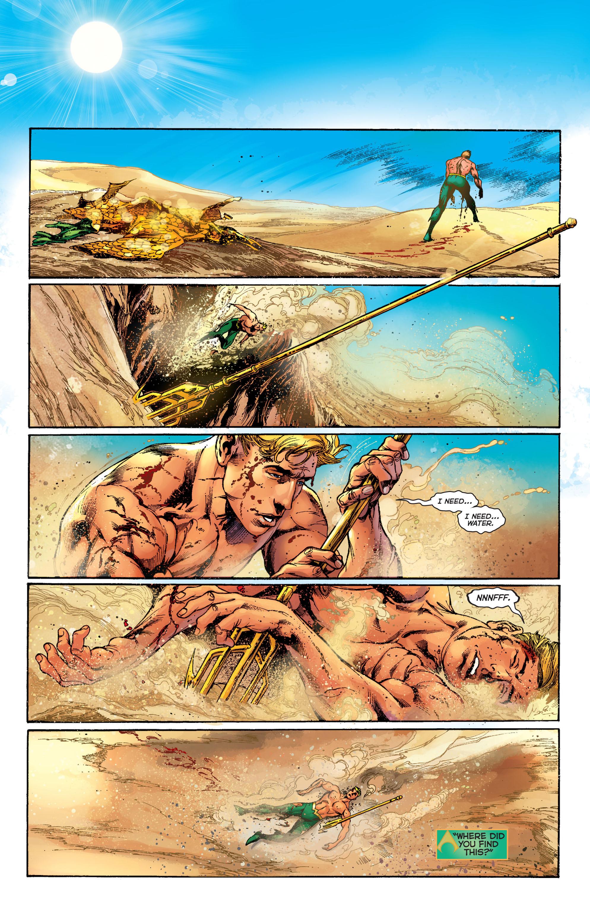Read online Aquaman (2011) comic -  Issue #5 - 9