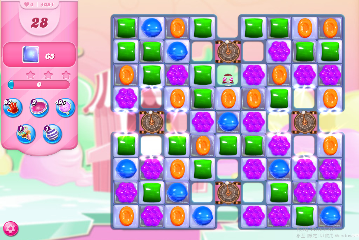 Candy Crush Saga level 4081