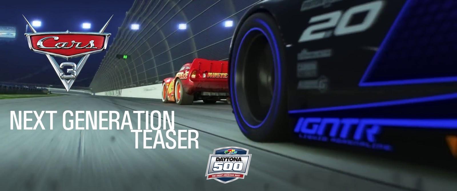 "Suspenseful ""Next Generation"" Cars 3 Teaser Premieres ..."
