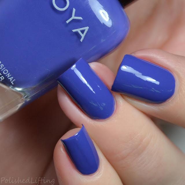periwinkle creme nail polish