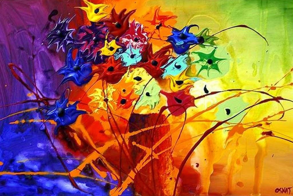 Pintura moderna y fotograf a art stica cuadros f ciles de pintar en acr lico modernos y - Como pintar cuadros faciles ...