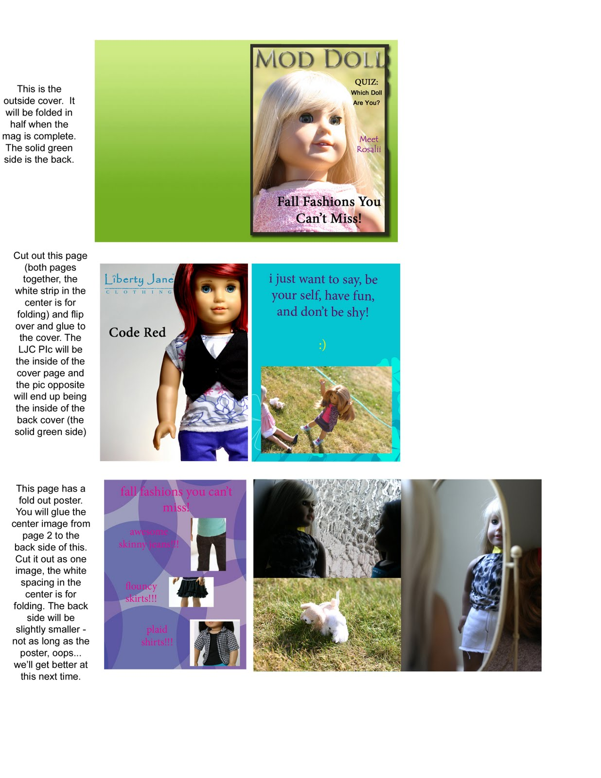 American Girl Doll Crafts And More